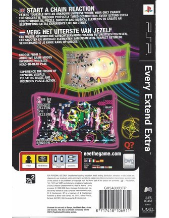 EVERY EXTEND EXTRA voor PSP