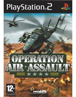 OPERATION AIR ASSAULT voor Playstation 2 PS2