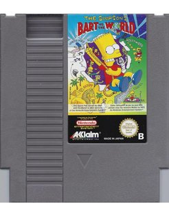 THE SIMPSONS - BART VS THE WORLD für Nintendo NES