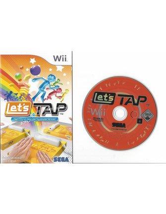 LET'S TAP voor Nintendo Wii
