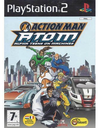 ACTION MAN ATOM Alpha Teens On Machines voor Playstation 2 PS2