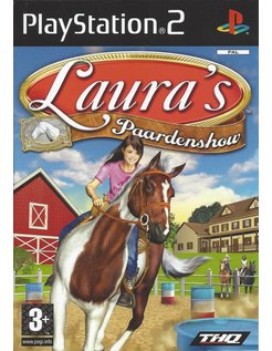 LAURA'S PAARDENSHOW voor Playstation 2 PS2