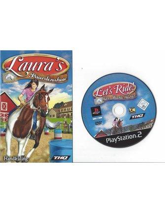 LAURA'S PAARDENSHOW voor Playstation 2 PS2