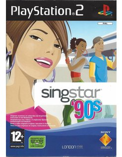 SINGSTAR 90s NINETIES voor Playstation 2 PS2