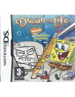 DRAWN TO LIFE SPONGEBOB SQUAREPANTS EDITION for Nintendo DS