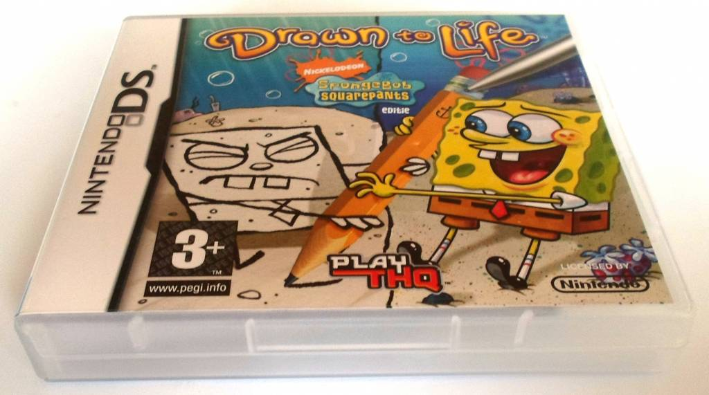 Drawn To Life Spongebob Squarepants Edition For Nintendo Ds Passion For Games