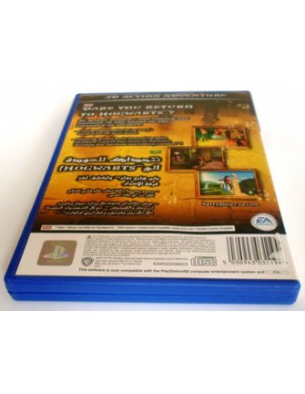 HARRY POTTER AND THE CHAMBER OF SECRETS for Playstation 2 - manual in ENG & ARABIC
