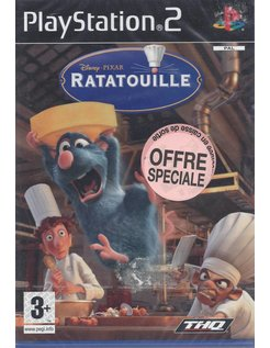 RATATOUILLE for Playstation 2 - NEW in seal - French