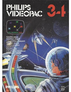 PHILIPS VIDEOPAC G7000 GAME 34 - SATELLITE ATTACK