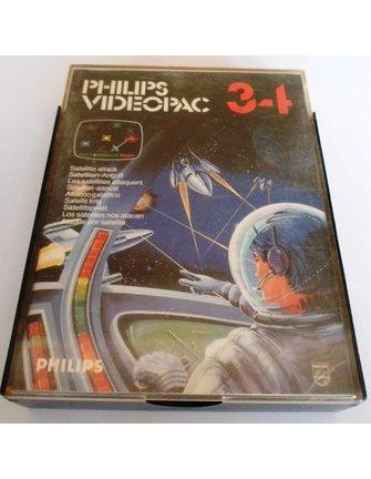 PHILIPS VIDEOPAC G7000 GAME 34 - SATELLITE ATTACK