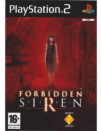 FORBIDDEN SIREN for Playstation 2 PS2