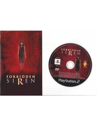 FORBIDDEN SIREN voor Playstation 2 PS2