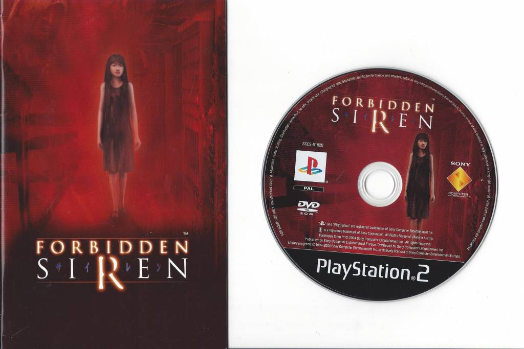 Forbidden Siren For Playstation 2 Ps 2 Passion For Games Webshop