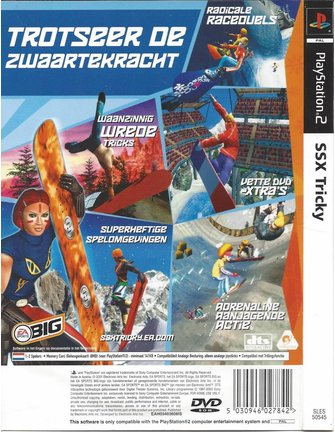 SSX TRICKY for Playstation 2 PS2