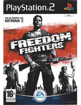 FREEDOM FIGHTERS voor Playstation 2 PS2 - Nederlandse handleiding