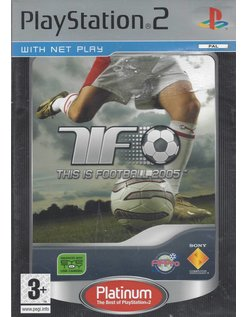 THIS IS FOOTBALL 2005 voor Playstation 2