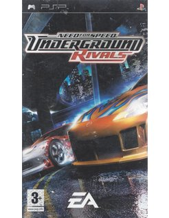 NEED FOR SPEED UNDERGROUND RIVALS for PSP