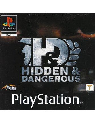 HIDDEN & DANGEROUS voor Playstation 1 PS1