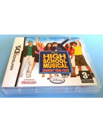 HIGH SCHOOL MUSICAL - MAKIN' THE CUT voor Nintendo DS