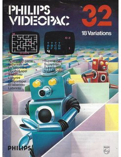 PHILIPS VIDEOPAC G7000 GAME 32 - LABYRINTH GAME - SUPERMIND
