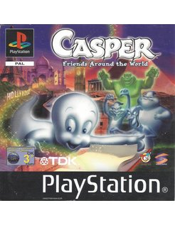 CASPER - FRIENDS AROUND THE WORLD für Playstation 1