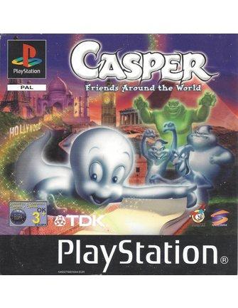 CASPER - FRIENDS AROUND THE WORLD voor Playstation 1 PS1
