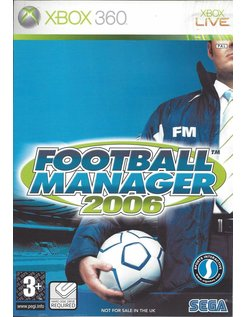 FOOTBALL MANAGER 2006 voor Xbox 360