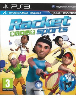 RACKET SPORTS voor Playstation 3 PS3