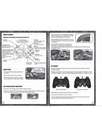 BAKUGAN BATTLE BRAWLERS for Playstation 2 PS2