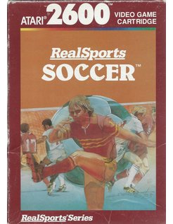REALSPORTS SOCCER for Atari 2600 - with box