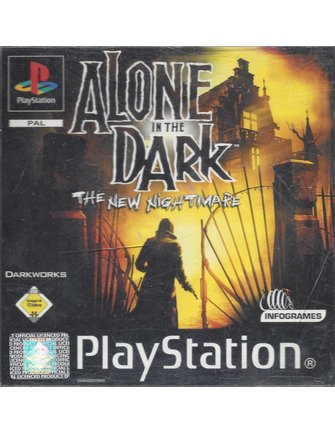 ALONE IN THE DARK THE NEW NIGHTMARE für Playstation 1 PS1