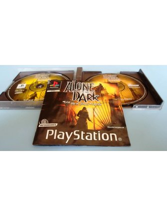 ALONE IN THE DARK THE NEW NIGHTMARE voor Playstation 1 PS1
