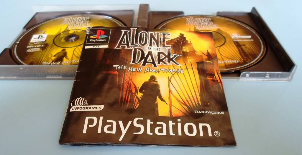 Alone In The Dark The New Nightmare Playstation 1 Ps1 Passion