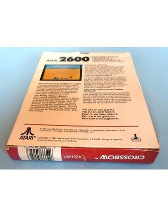 CROSSBOW voor Atari 2600 - met doos en handleiding