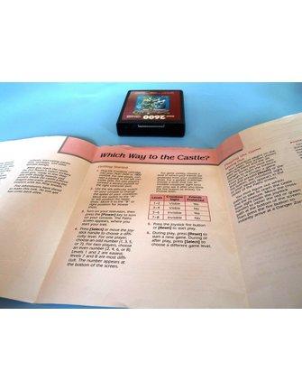 CROSSBOW für Atari 2600 - mit Box und Anleitung