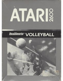 REALSPORTS VOLLEYBALL for Atari 2600 - with box & manual