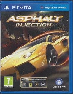 ASPHALT INJECTION for PS VITA