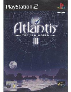 ATLANTIS III (3) THE NEW WORLD voor Playstation 2 PS2