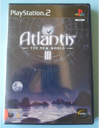 ATLANTIS III (3) THE NEW WORLD voor Playstation 2 PS2