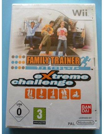FAMILY TRAINER EXTREME CHALLENGE voor Nintendo Wii - NIEUW in seal