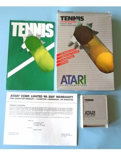 TENNIS voor Atari 400/800 / XE / XL homecomputers