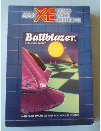 BALLBLAZER für Atari 400/800 / XE / XL Heimcomputer - mit Box