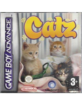 CATZ voor Game Boy Advance GBA - met doos en handleiding