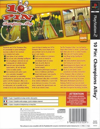 10 PIN CHAMPIONS ALLEY voor Playstation 2 PS2