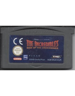 THE INCREDIBLES RISE OF THE UNDERMINER voor Game Boy Advance GBA