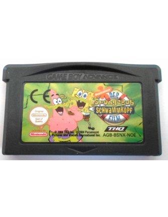 DER SPONGEBOB SCHWAMMKOPF FILM voor Game Boy Advance GBA