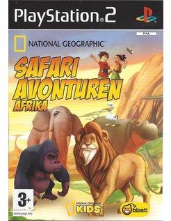 NATIONAL GEOGRAPHIC SAFARI AVONTUREN AFRIKA für Playstation 2 PS2