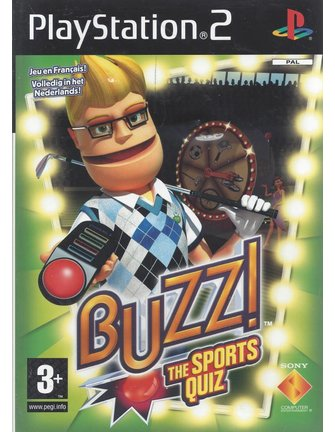 BUZZ THE SPORTS QUIZ für Playstation 2 PS2