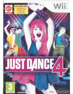 JUST DANCE 4 voor Nintendo Wii
