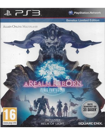 FINAL FANTASY XIV 14 ONLINE - A REALM REBORN voor Playstation 3 PS3